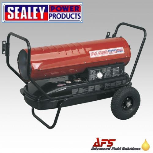 AB1008 Sealey Space Warmer® Paraffin/Kerosene/Diesel Heater 100,000Btu/hr with Wheels